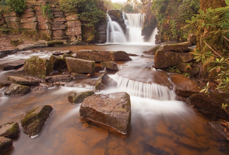 The Waterfall Taken On A Colourless Cold Winter's Day by Paul Dillon -Runner Up Jan 2013